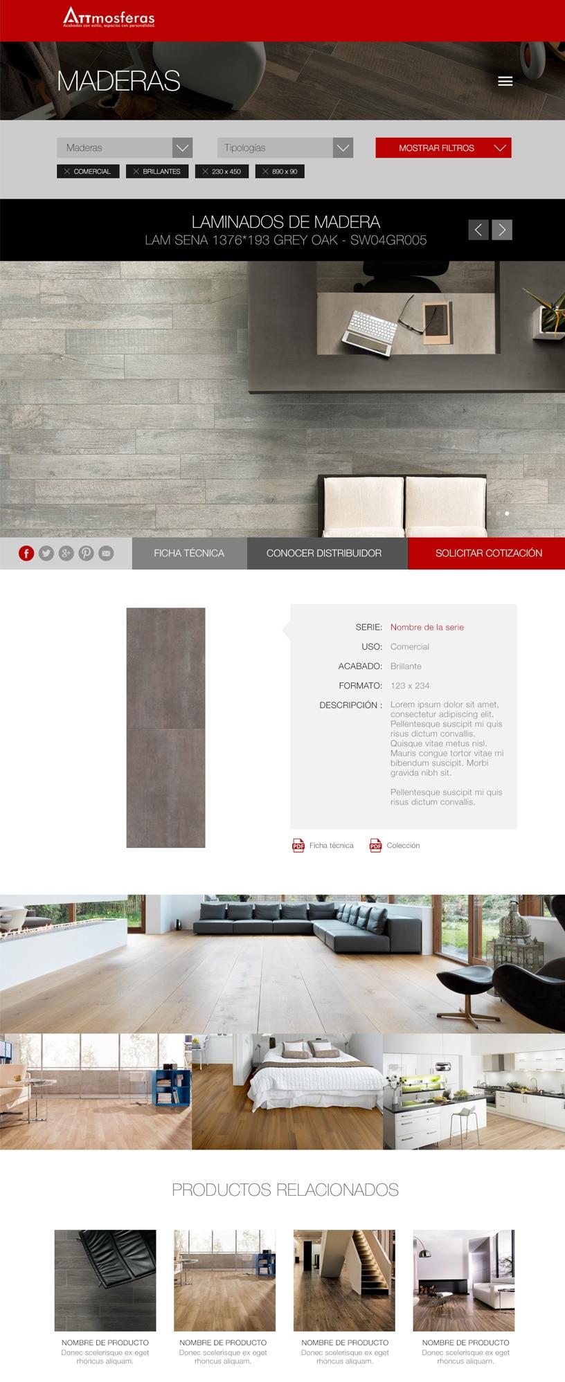 Página web para empresas de distribución