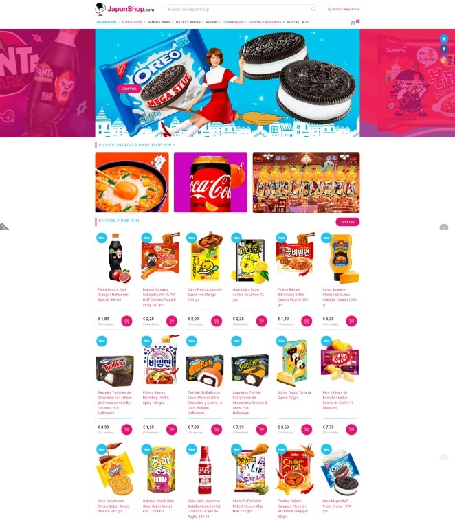 Campañas marketing digital JaponShop